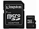 Micro SD KINGSTON MicroSDHC 8GB Cl.4 +adapt / SDC4/8GB