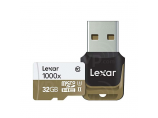 Micro SD LEXAR HIGH-PERFORMANCE 32GB MSDHC/MSDXC UHS-II 1000X