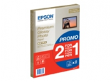 Papīrs EPSON 2 X EPS PREMIUM GLOSSY PHOTO PAPER A4 30